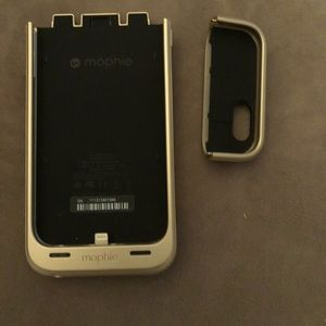 Mophie juice pack and iPhone case in one